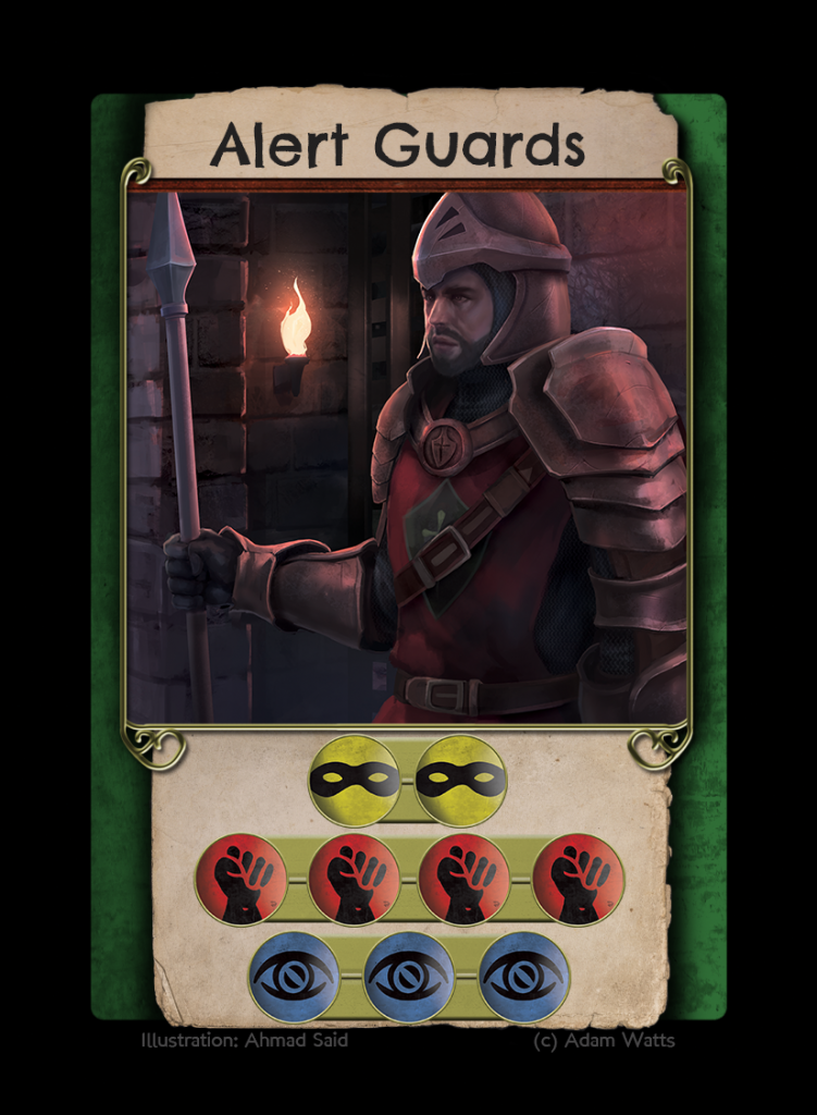 Alert Guards Bright Bars