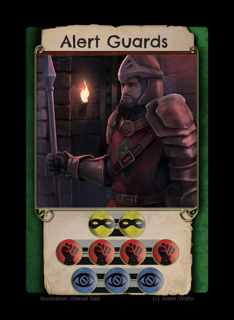 Alert Guards Cut Steel